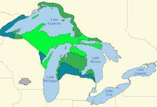 Location of Superior