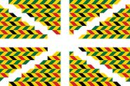 Geometric Design Flag