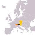 Location of Austria (Yellowstone)