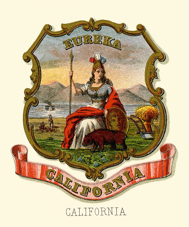 California state coat of arms (illustrated, 1876).jpg