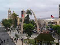 Foto de la ciudad chilena de Tacna.