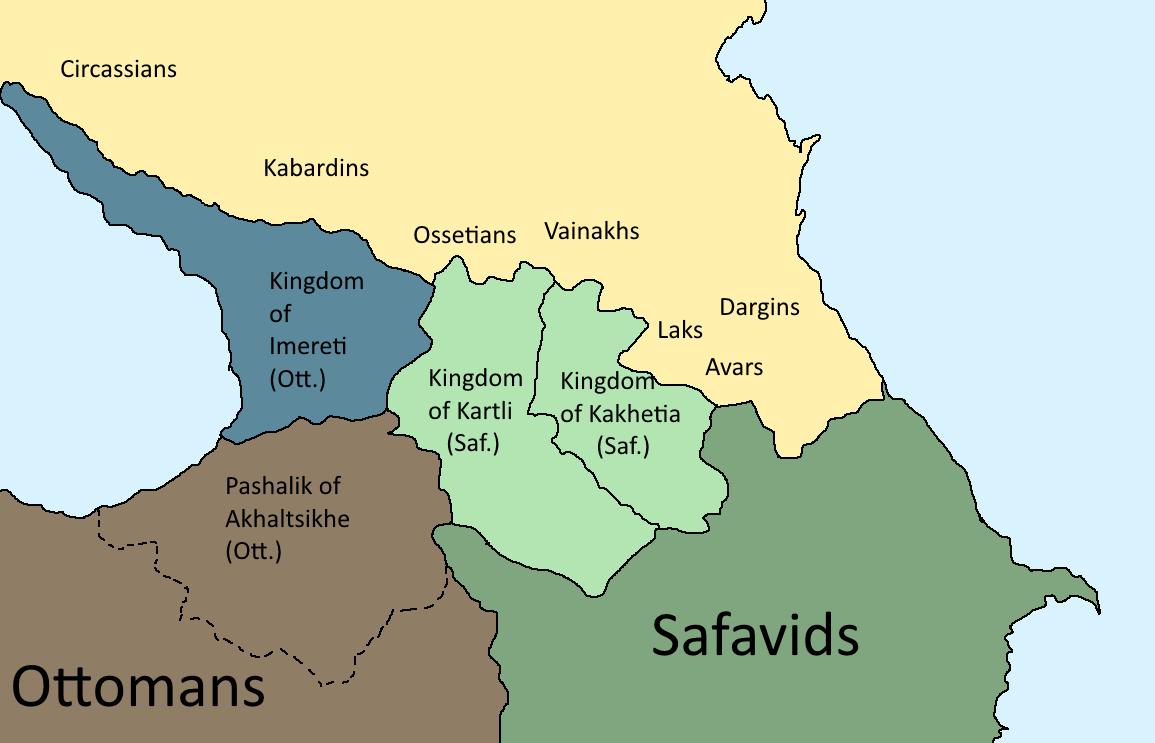 Imeretian-Circassian War (Second Unification of Georgia)