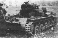 Destroyed Pz.Kpfw. I near Hořovice (WFAC)