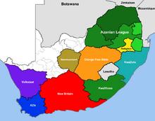 Location of KwaXhosa