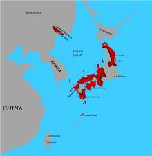 Location of Nihon Theocracy