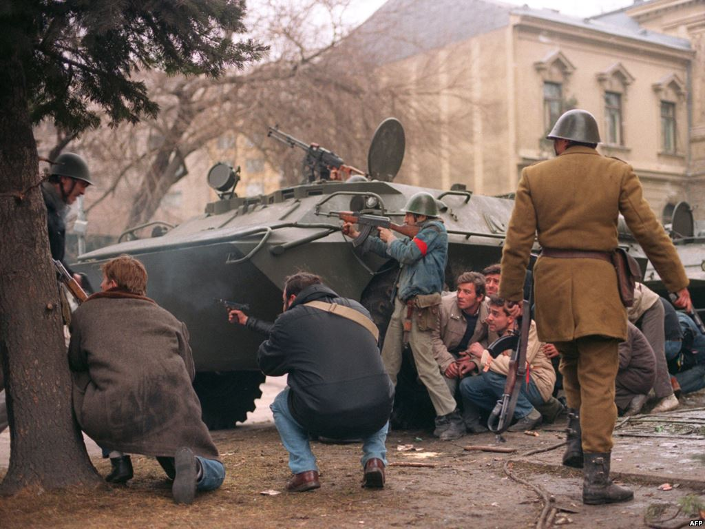 Czech Uprising of 1993 (This is the Dream)