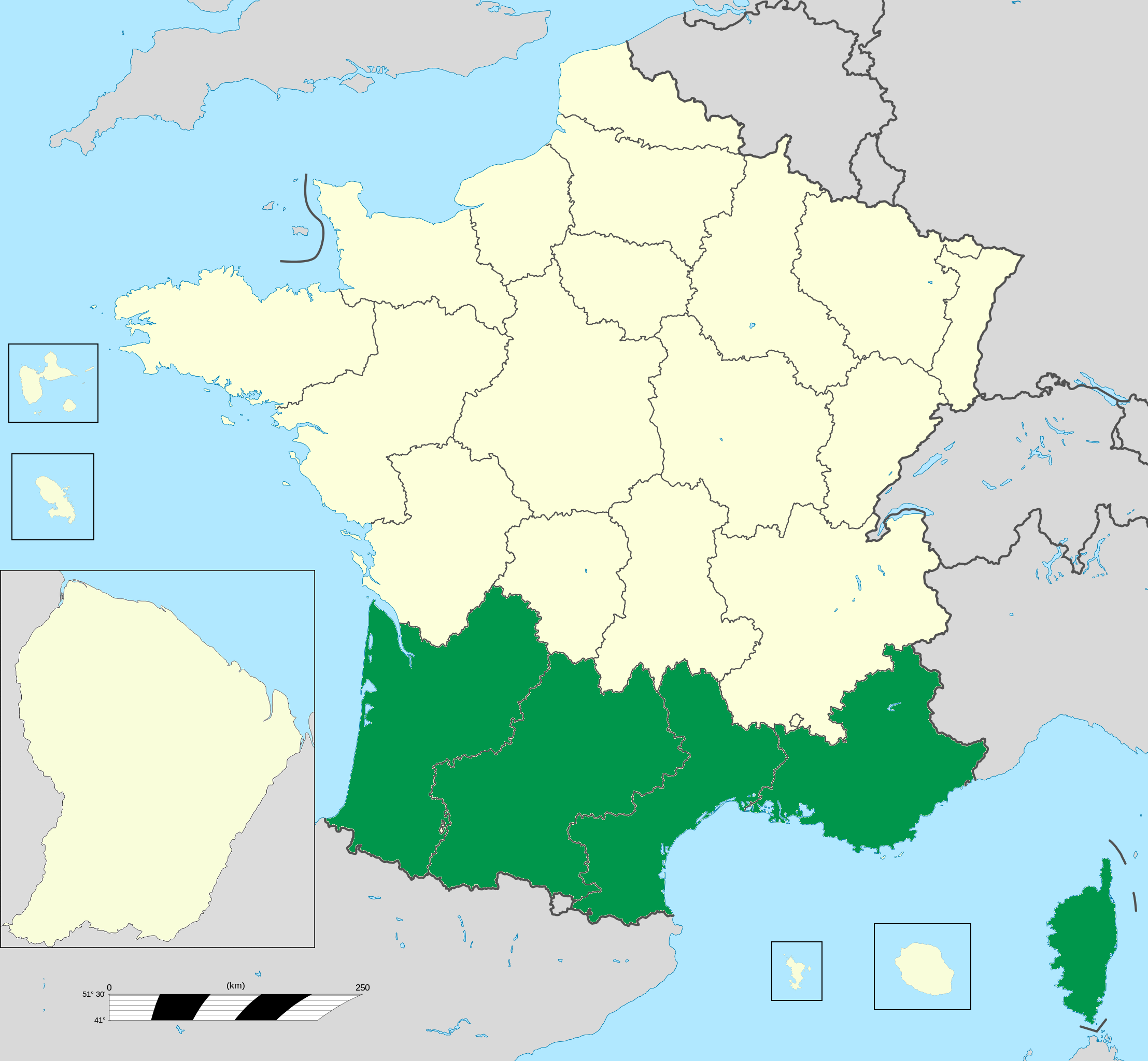 French Republic in Exile-Mainland France.png