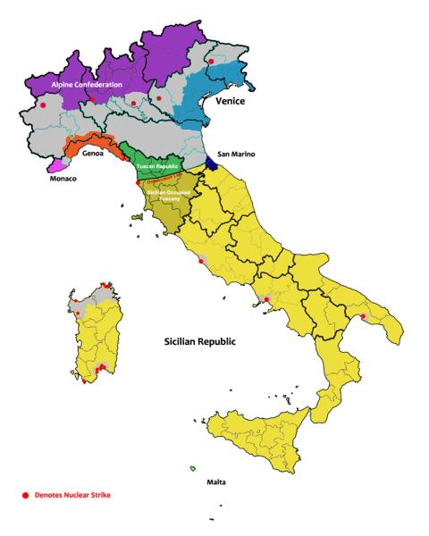 Sicilian Mafia (1983: Doomsday)