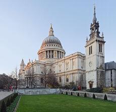 St Paul's Cathedral, London, England - Jan 2010 edit.jpg