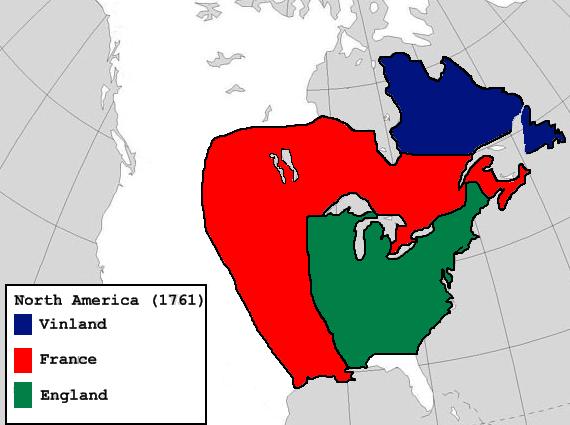 18th Century Maps (Ericson's Vinland)