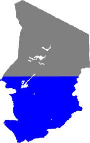 1983DD Map of Chad