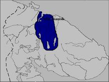 Location of Sápmi Republic