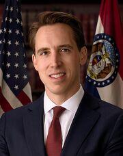 Josh Hawley, official portrait, 116th congress.jpg