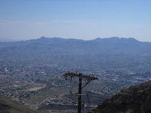 Location of El Paso