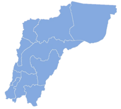 Ubicación de Región de Atacama (Chile No Socialista)