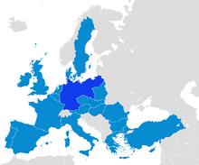 Localización de Alemania