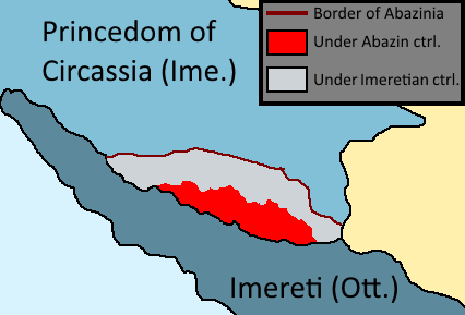 Abazin Insurgency (Second Unification of Georgia)