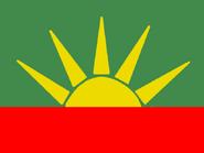 Aztce flag (1930)