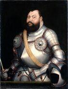 Lucas Cranach d.J. - Kurfürst Johann Friedrich der Großmütige von Sachsen (1578)