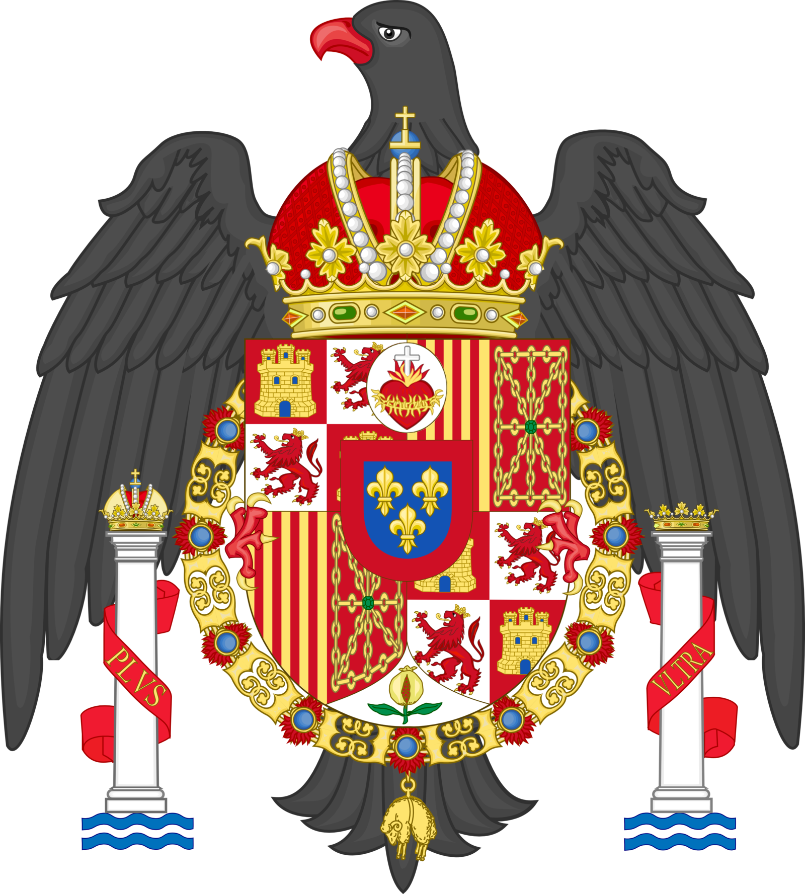 Coat of Arms of Spain (1977-1981) (Modified).png