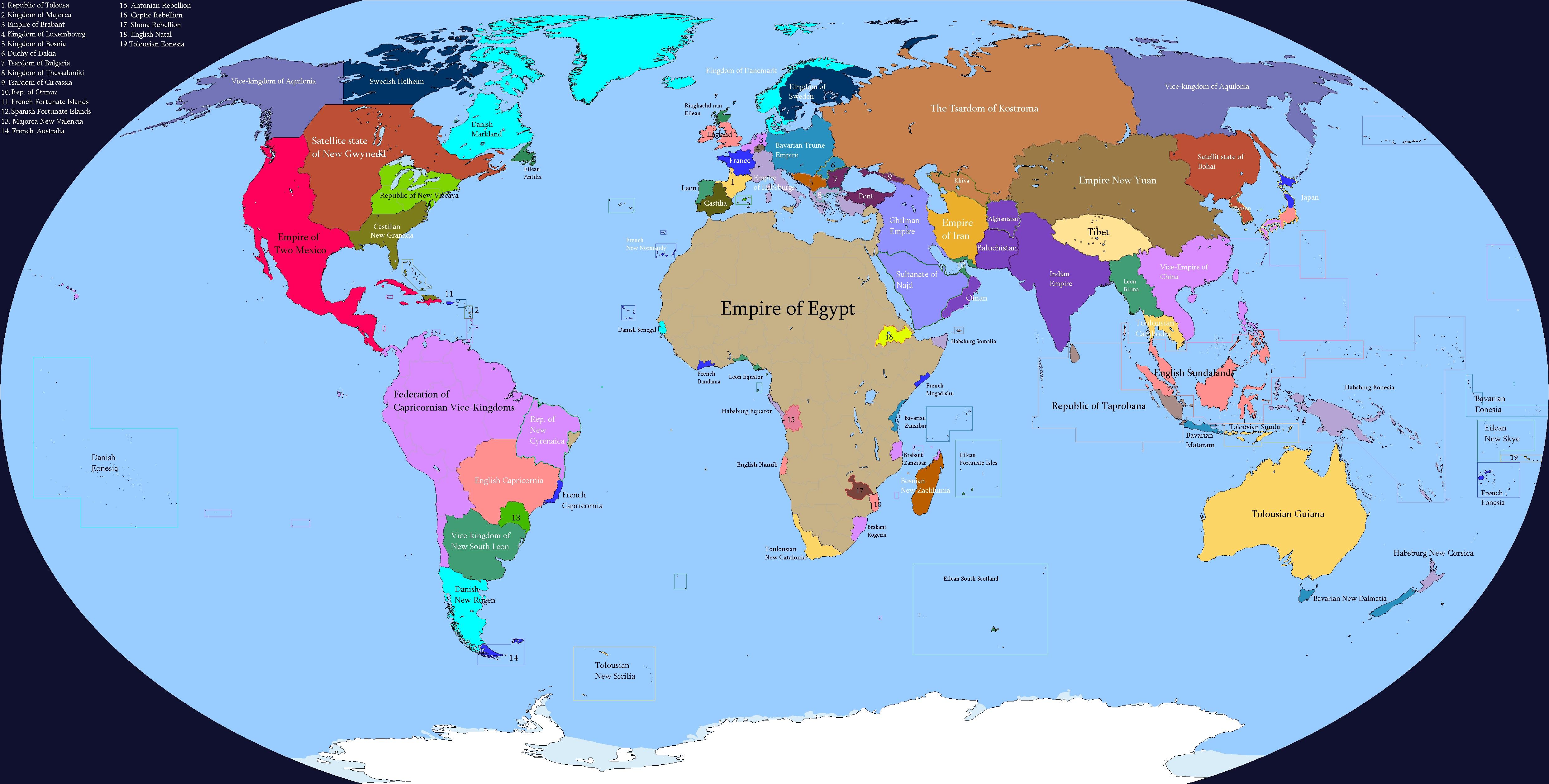Великий Египет (карта)