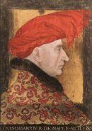15th-century unknown painters - Louis II of Anjou - WGA23561