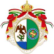 Brasão de Armas Maria Amélia de Bragança