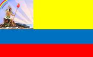 Flagge Venezuelas 1811-1812
