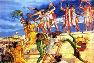 Mesoamerica Civil War artwork