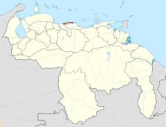 Ubicación de Estado Vargas (Chile No Socialista)