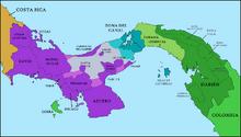 Location of West Panama