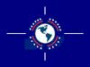 Flag of the A.D.A. (22 Stars)