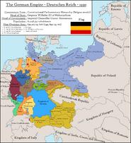 Deutsches Reich (Namen in englisch)