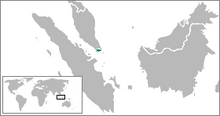 Location of Republic of Singapore