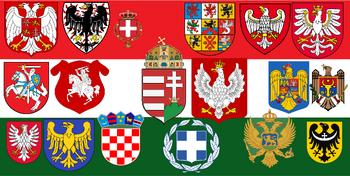 Zjednoczone królestwo polsko węgierskie.