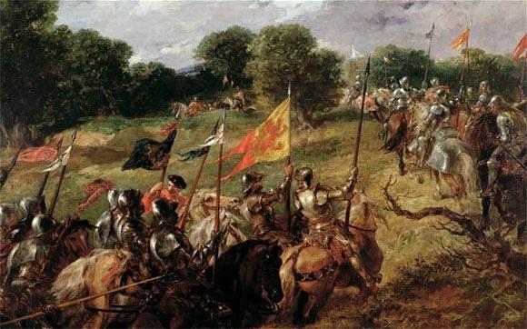 Англо-шотландская война (Победа при Босуорте)