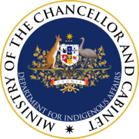 Seal of the Cygnian Department for Indigenous Affairs.png