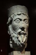 Musée de Cluny Naissance de la sculpture gothique Abbatiale Saint-Denis Statue-colonne Moïse A 05012019