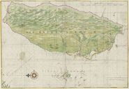 1640 Map of Formosa-Taiwan by Dutch