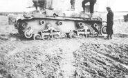 Destroyed LT vz. 35 near Hořovice (WFAC)