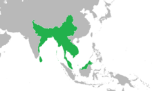 Location of Kingdom of the United Provinces of Myanmar