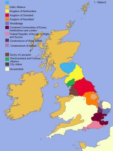 Location of Northumbria