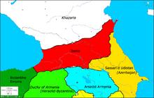 Location of Iberia