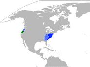 North America Map Yellowstone