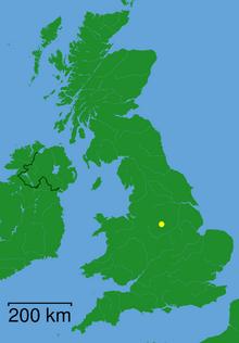 Location of Matlock