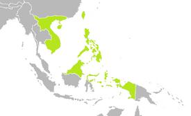 Location of the Philippine Empire