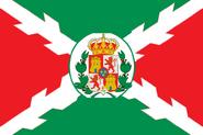 Bandera reino de mexico