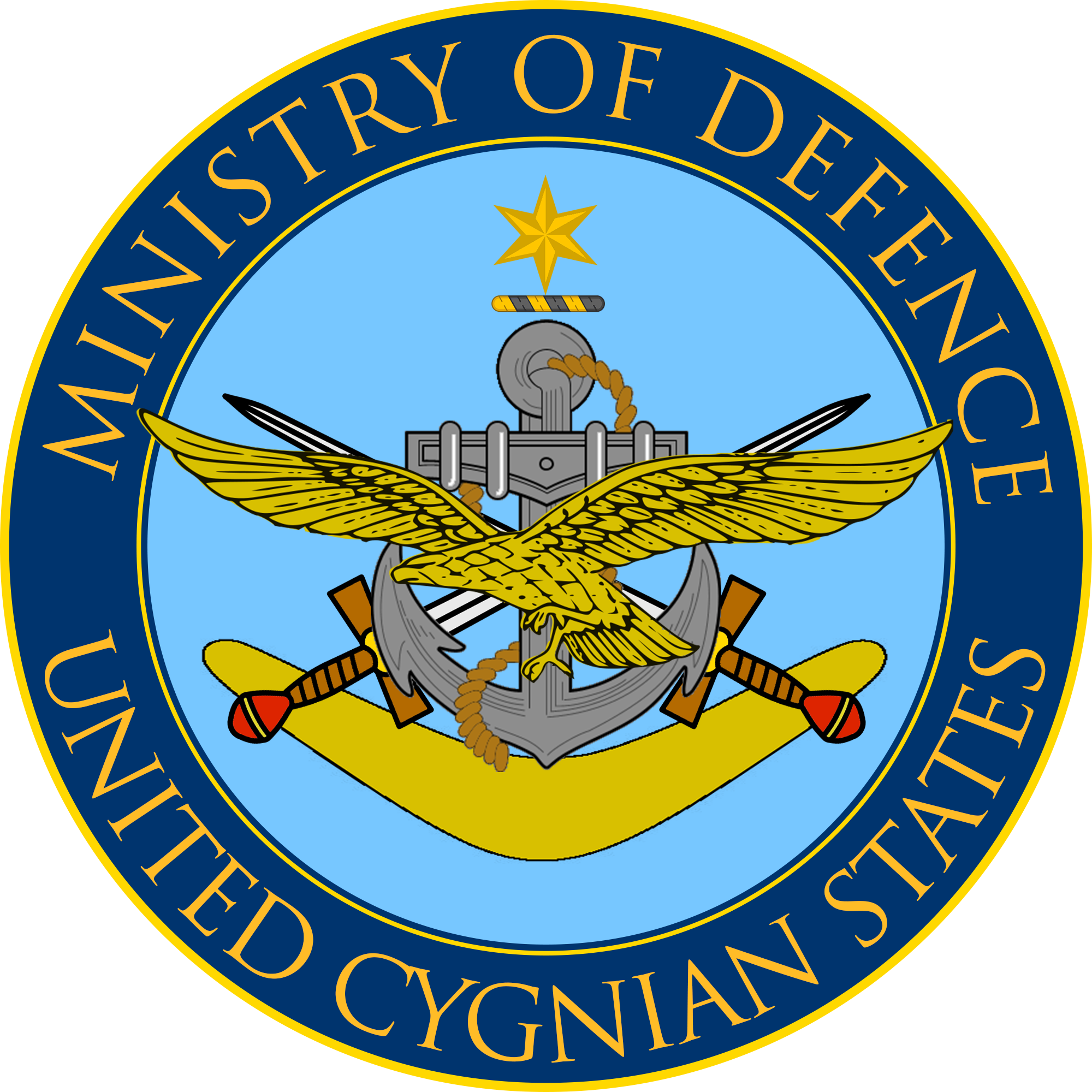 Cygnian Minister for Defence (Joan of What?)