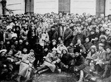 Localización de Fuerzas Armadas del Partido Obrero Socialista de Rusia