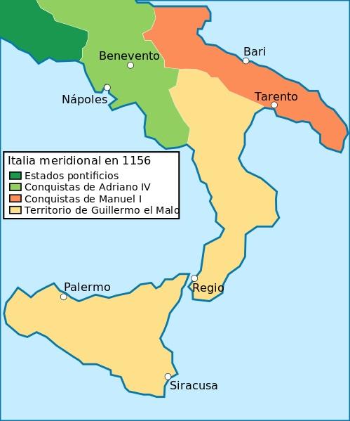Византийская Италия (таймлайн)